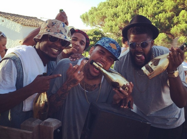 Chris Brown South Of France