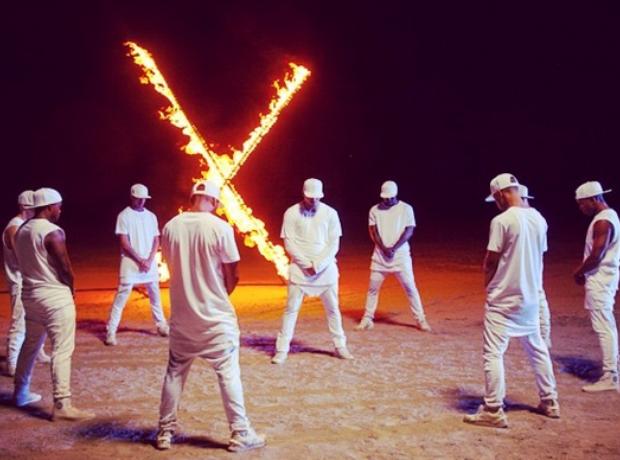 Chris Brown New Flame teaser