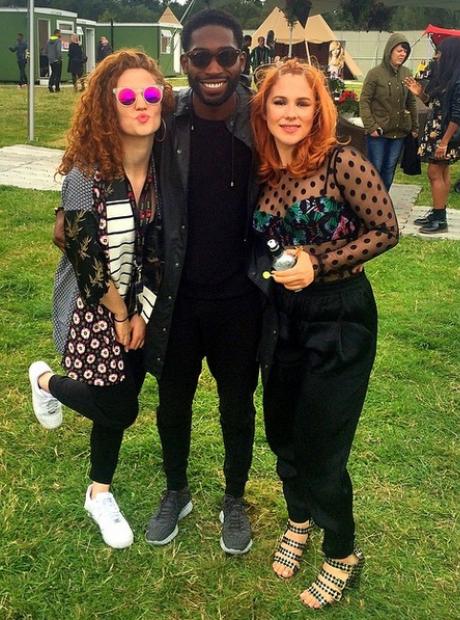 Jess Glynne Tinie Tempah Katy B V Festival 2014
