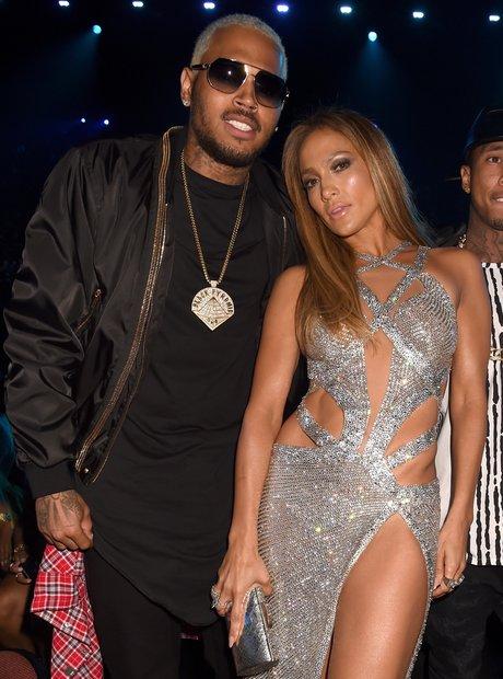 Chris Brown and Jennifer Lopez