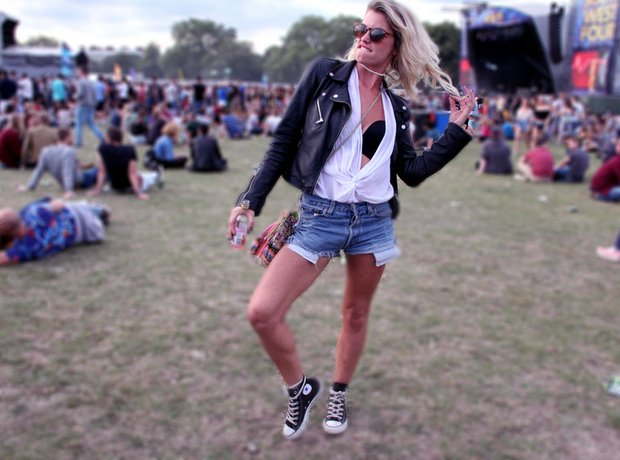 South West Four 2014 Day Two Festivalgoers