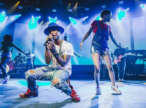 Pharrell iTunes Festival 2014