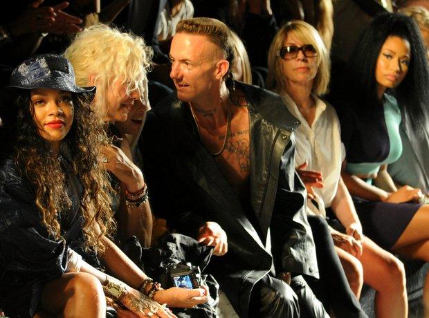 Rihanna New York Fashion Week 2014