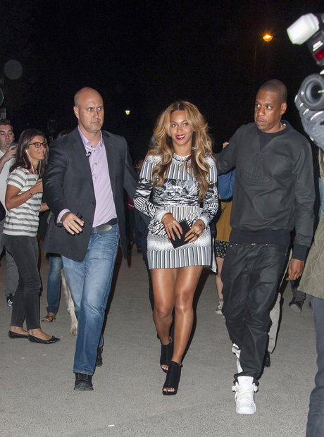 Beyonce and Jay Z Night Out