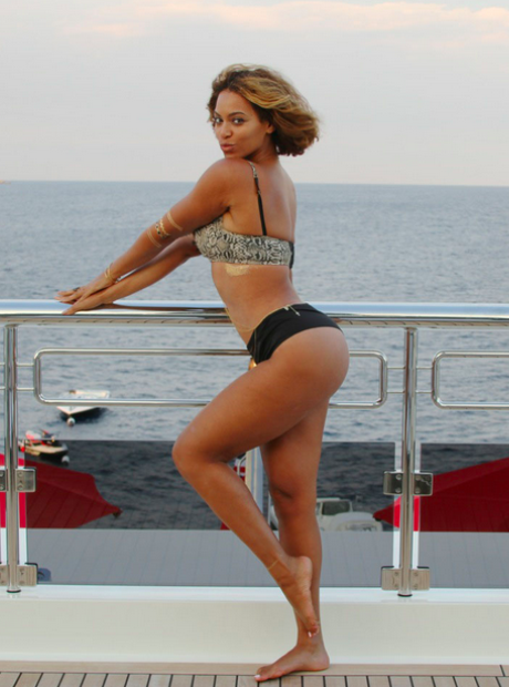 Beyonce holiday instagram