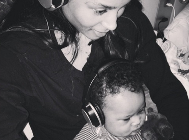 Ciara and baby Future