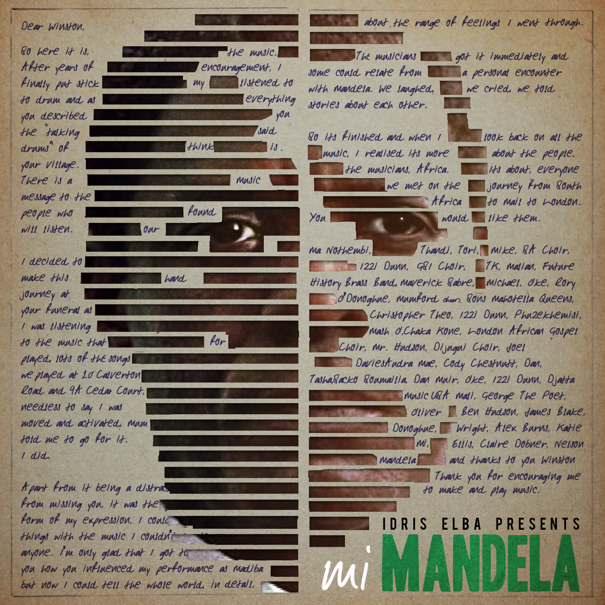 Idris Elba Mi Mandela Artwork