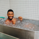 Image 1: Usher in Ice bath