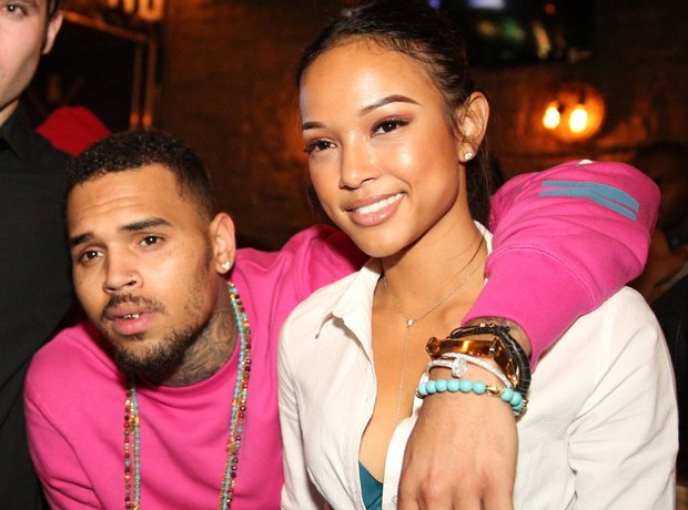 Chris Brown and Karrueche Tran