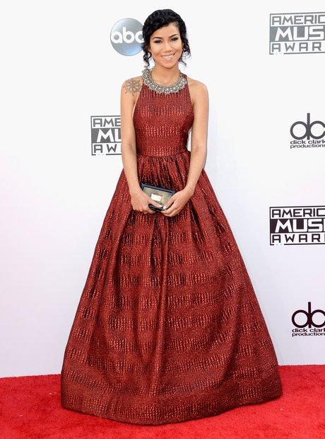 Jhene Aiko American Music Awards 2014