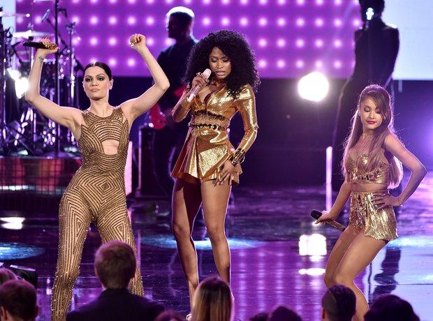 Nicki Minaj, Jessie J and Ariana Grande