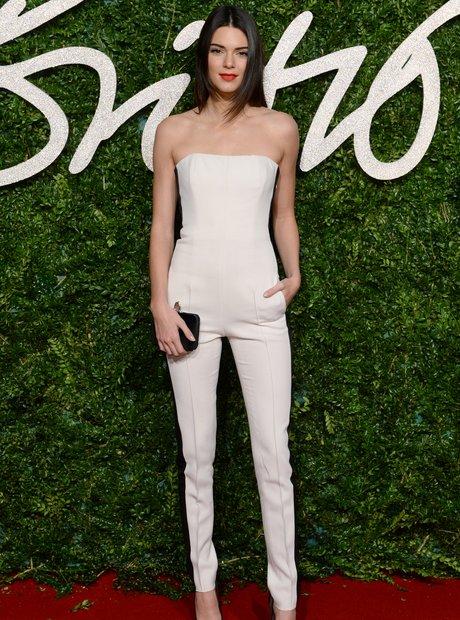 Kendall Jenner British Fashion Awards 2014