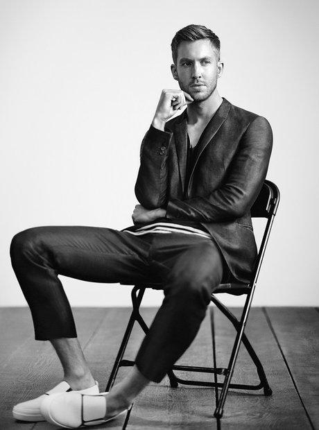 Calvin Harris The New Face of Emporio Armani