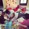 Image 3: Ne-Yo helps his children open their presents on Ch
