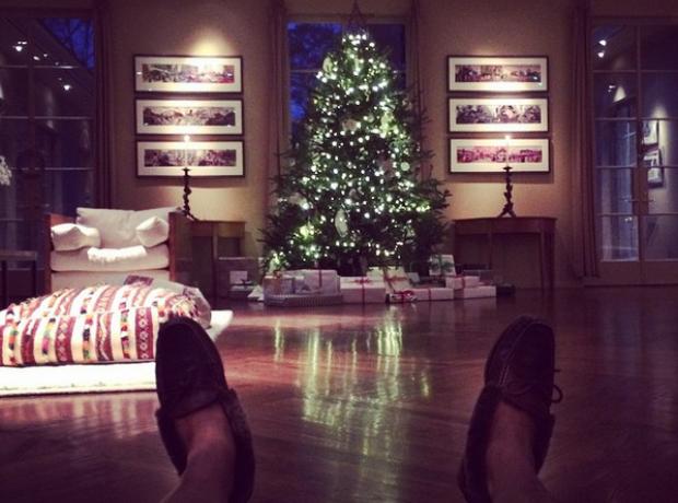 Usher Christmas 2014