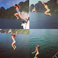 Image 2: Beyonce Jumping Off Boat