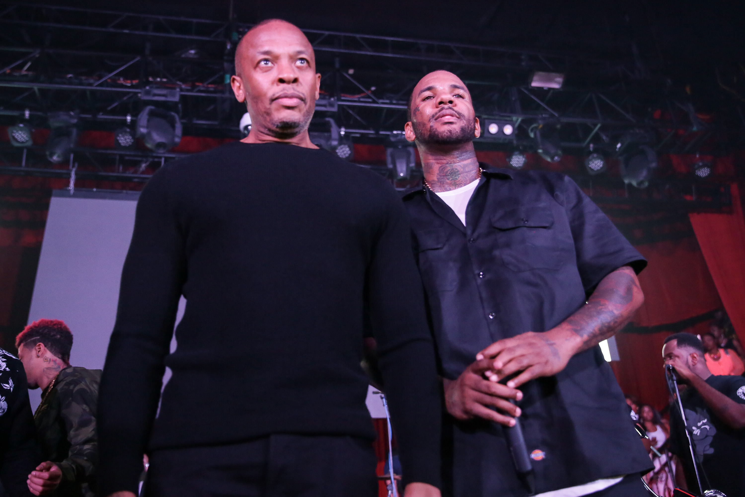 Dr. Dre and The Game