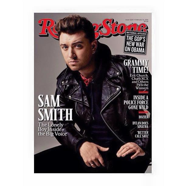 Sam Smith Covers Rolling Stone Magazine