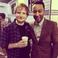 Image 8: Ed Sheeran and John Legend at Stevie Wonder concer