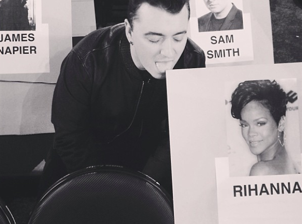 Rihanna Sam Smith Grammys seating plan