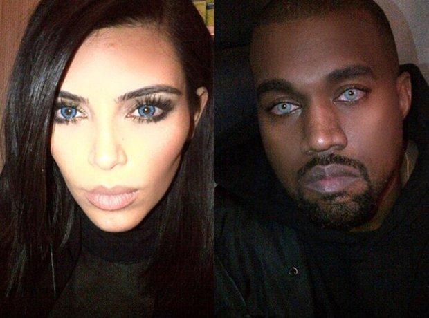 Kim and Kanye Contact Lenses