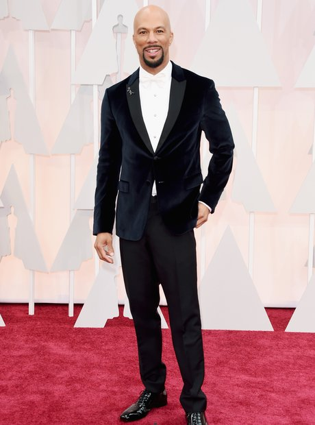 Common arrives at the Oscars 2015