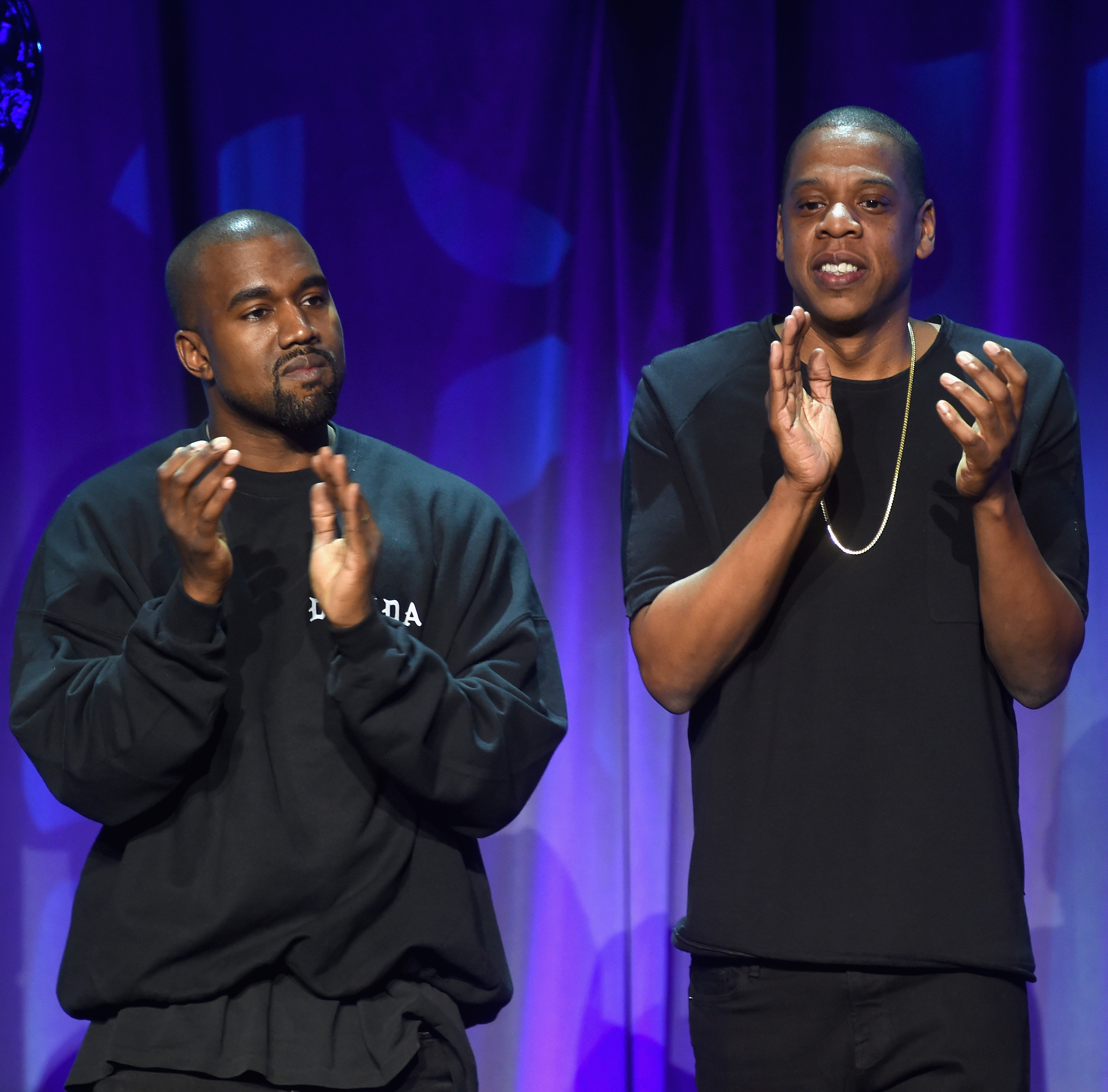 Jay Z and Kanye West Tidal Event 2015