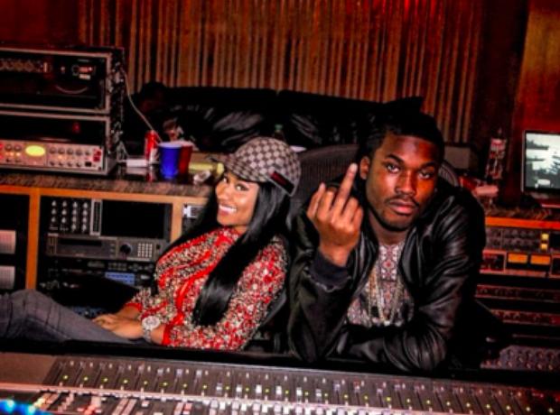 Nicki Minaj and Meek Mill