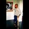 Image 8: Usher gold crutches