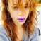 Image 10: Rihanna  purple lips