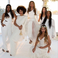 Image 1: Tina Knowles Wedding Beyonce Brisemaid
