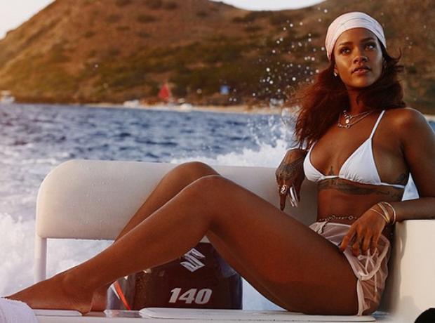 Rihanna holiday 2015