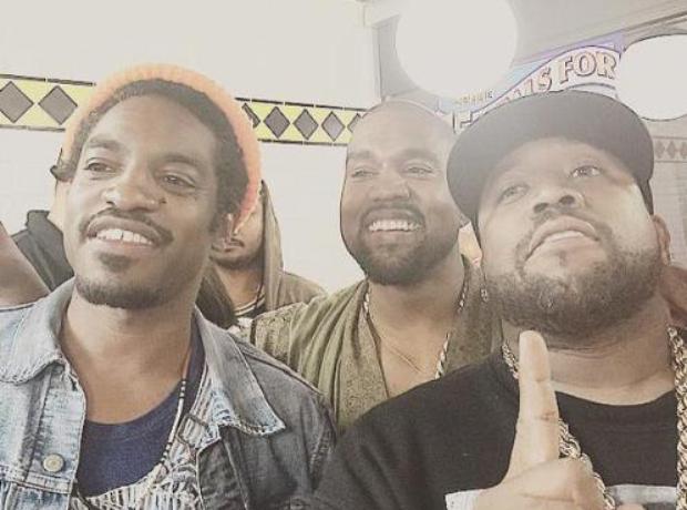 Andre 3000 Kanye West Big Boi