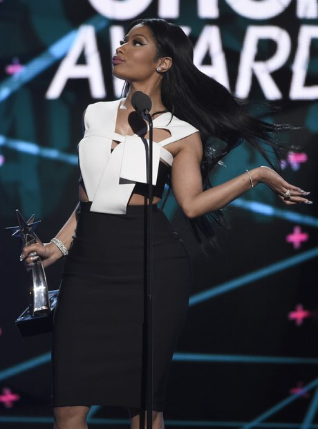 Nicki Minaj at the BET Awards 2015