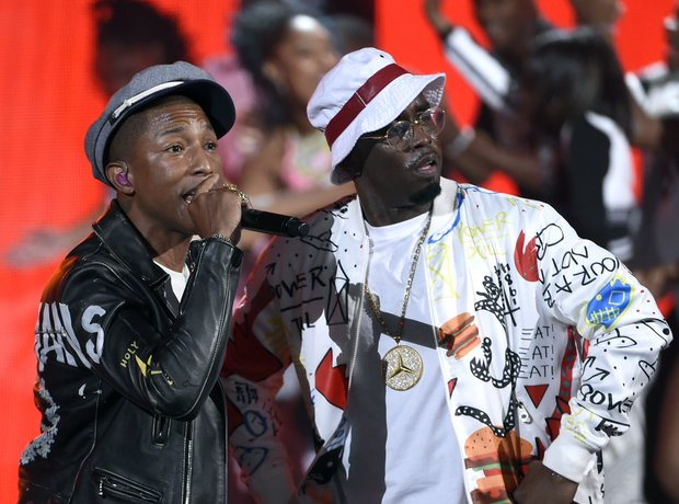 Pharrell and Sean 'Diddy' Combs BET Awards 2015