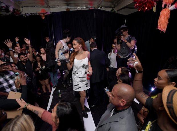 Rihanna Tidal Event