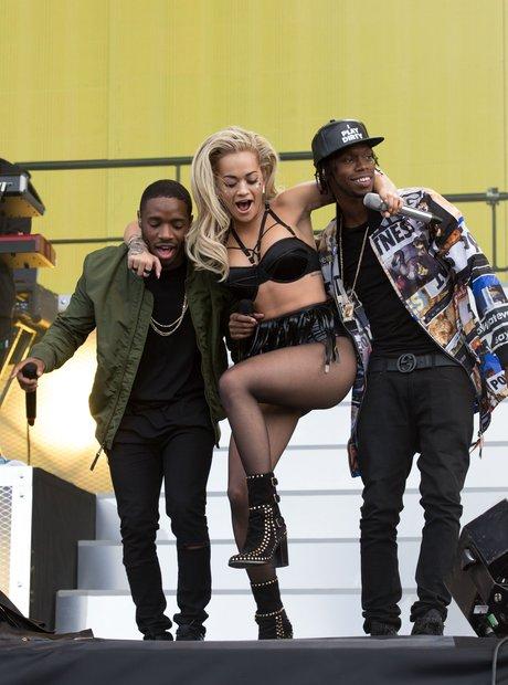 Rita Ora, Krept and Konan