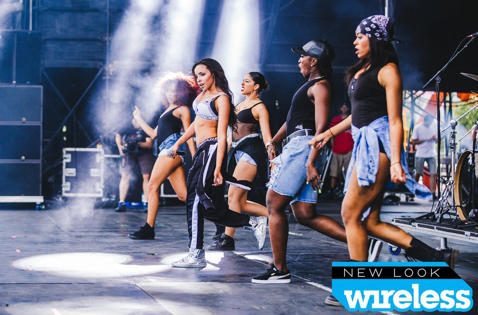 Tinashe Wireless Festival 2015