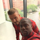 Image 9: David Beckham and Kevin Hart