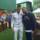 Image 10: Drake and Novak Djokovic Wimbledon
