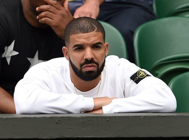 Drake at Wimbledon 2015