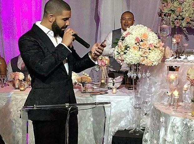 drake wedding 2
