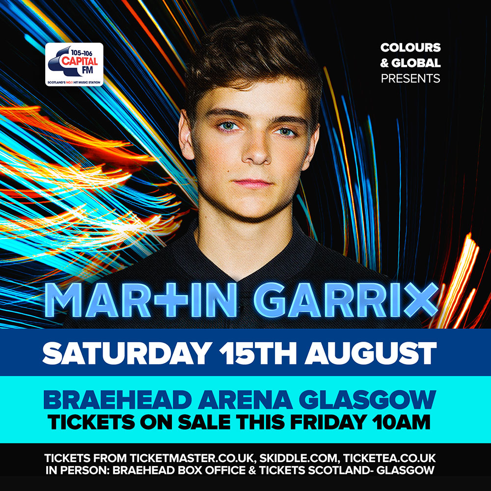 Martin Garrix in Glasgow