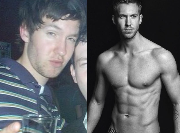 Calvin Harris before and after