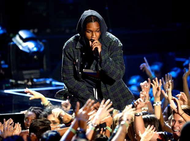 A$AP Rocky at the MTV VMAs 2015