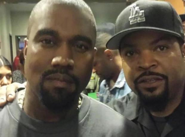 Kanye West and Ice Cube