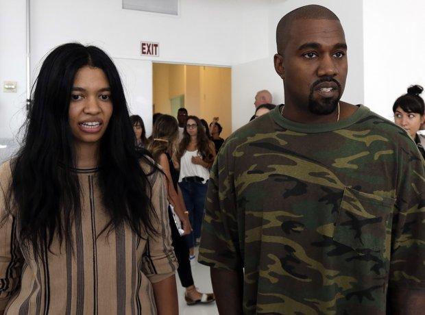 Kanye West New York Fashion Week