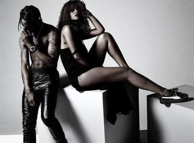 Rihanna Travis Scott Puma Advert