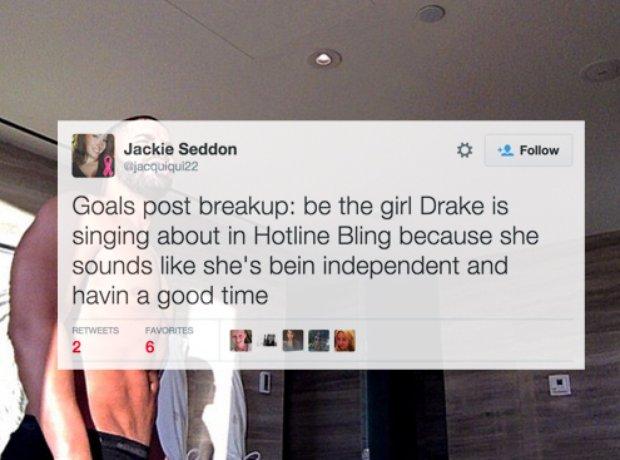 Girls Hotline Bling Tweets
