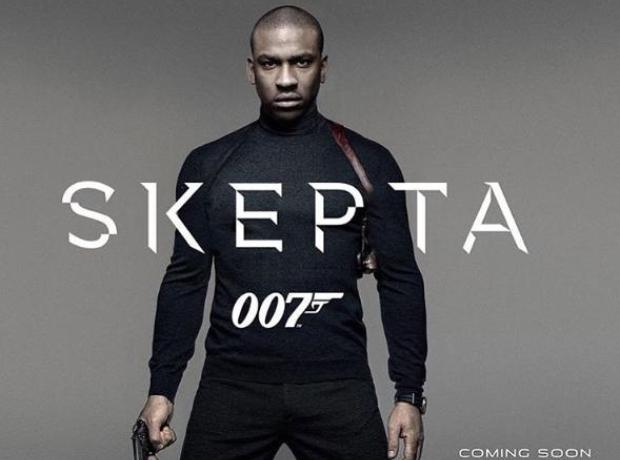 Skepta James Bond
